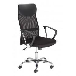Fotel biurowy FLOTAR czarny